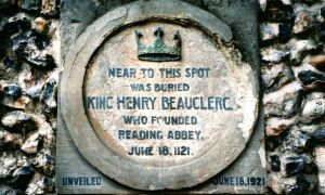 Reading Abbey King Henry Plaque