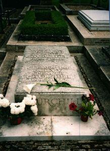 Sir Winston Churchill Grave