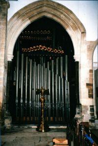 Wimborne Organ Case